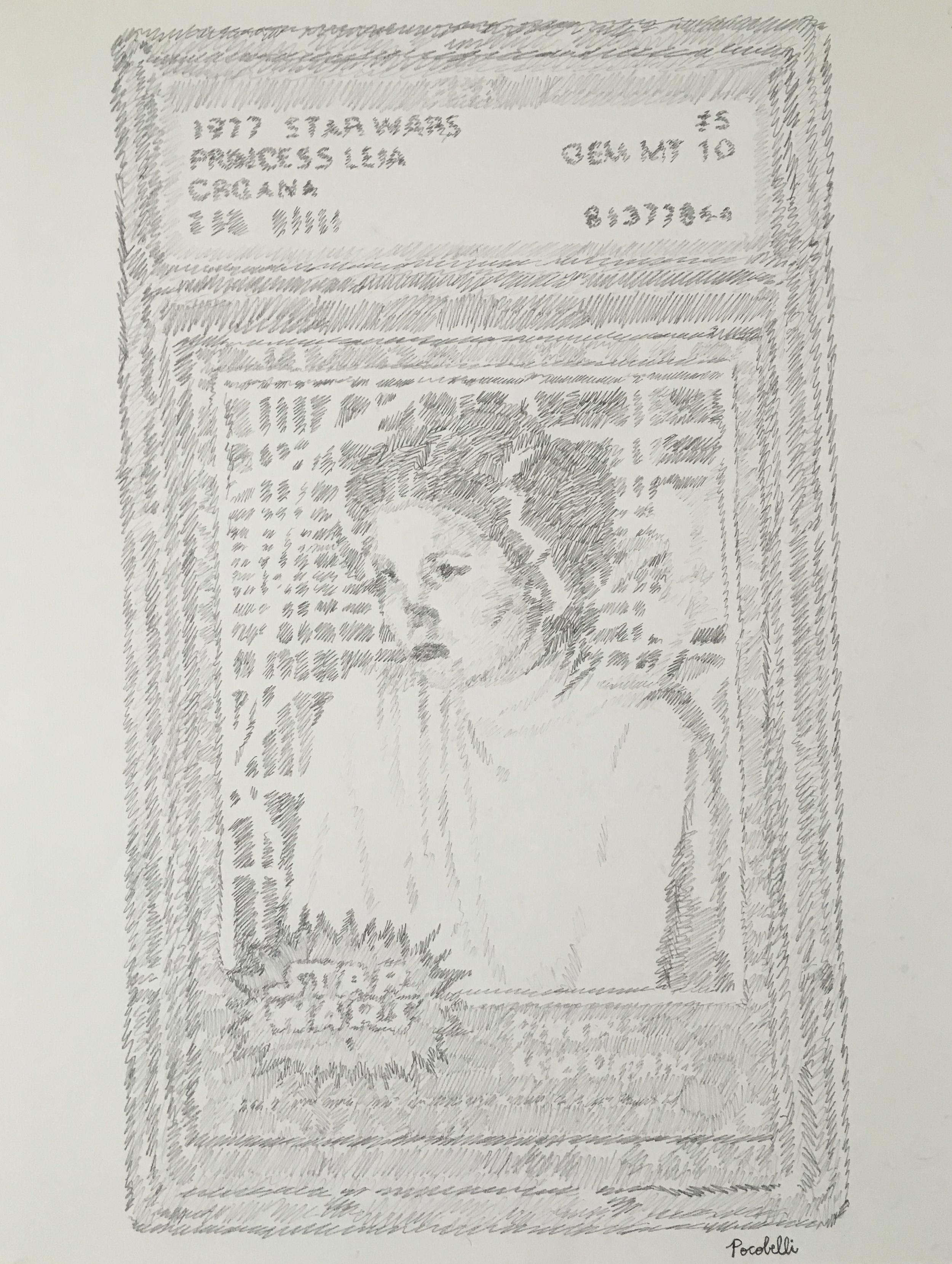 Princess Leia Organa (Topps 1977)