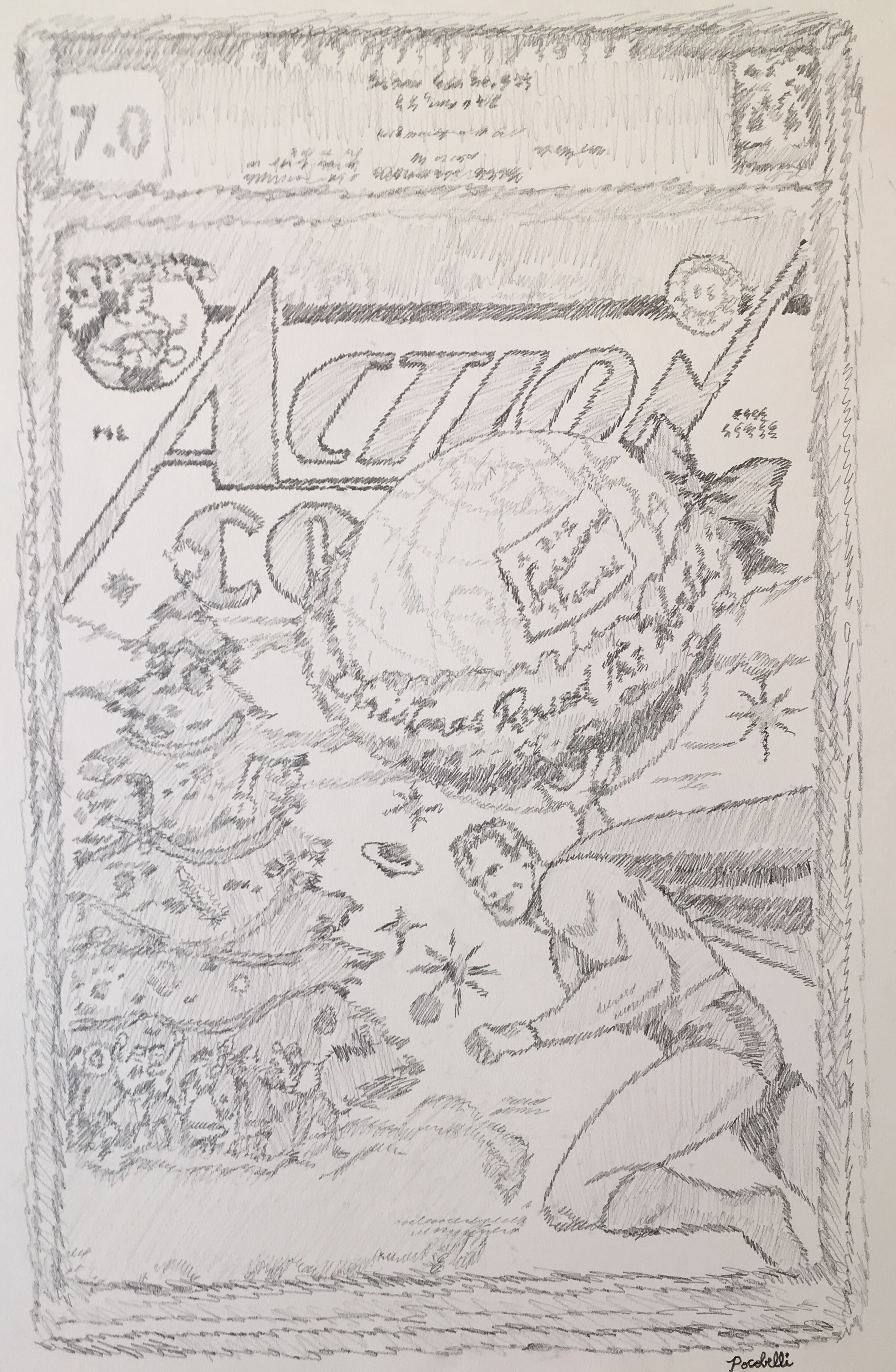 Action Comics #93 (F/VF 7.0)
