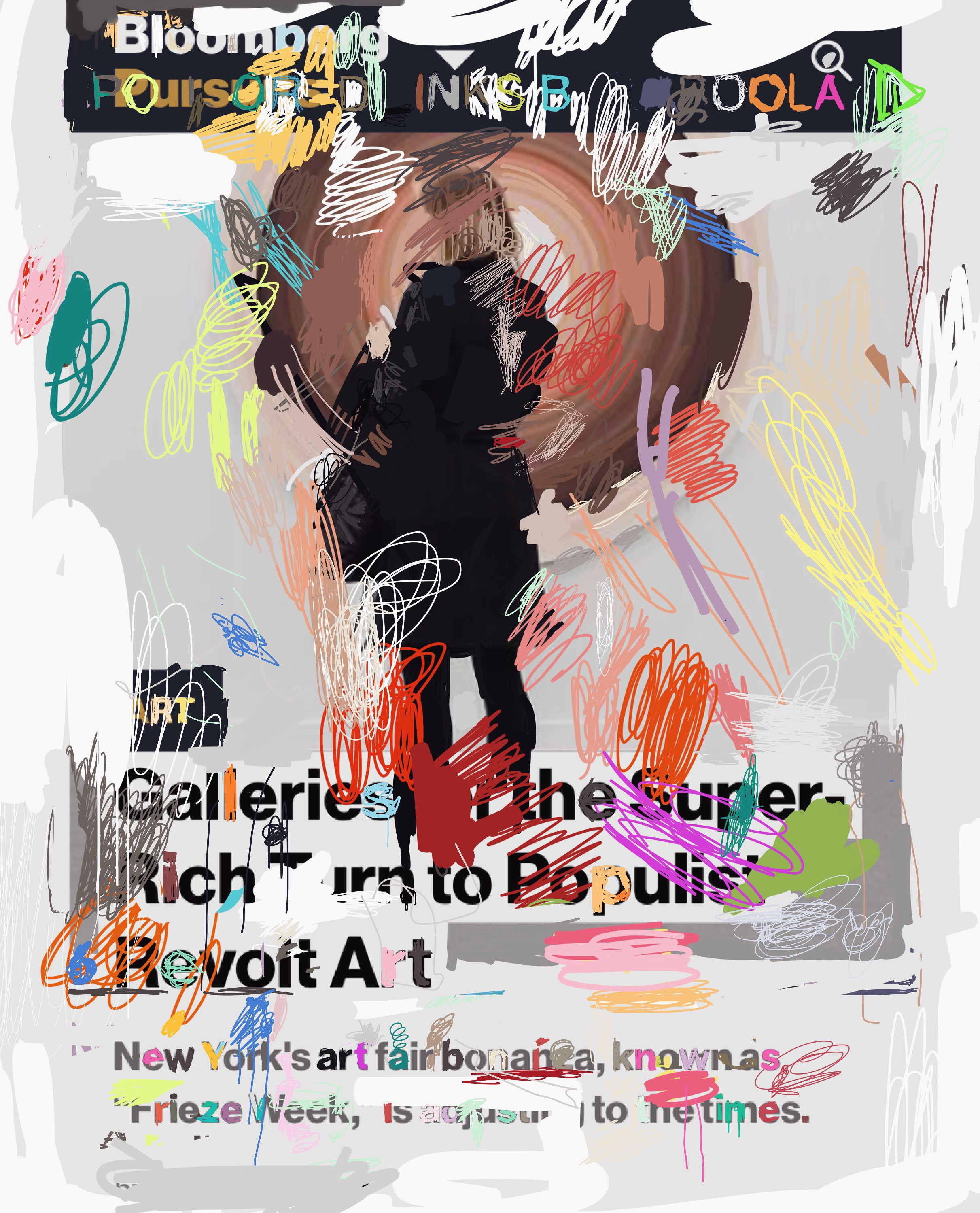 """""""Galleries of the Super-Rich"""", iPhone 6S, digital image."""