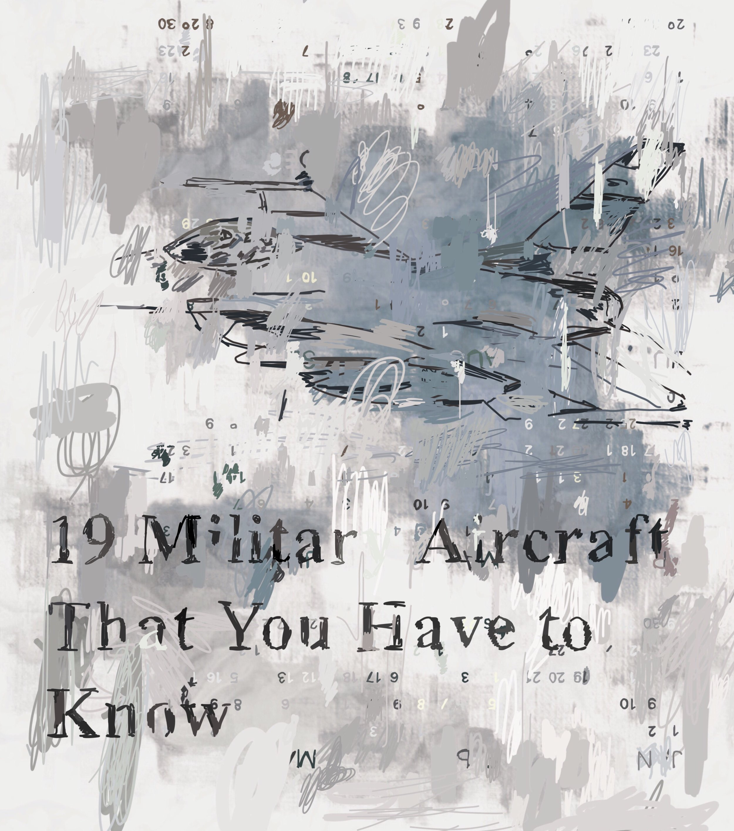 """19 Military Aircraft That You Have to Know"", iPhone 6S, digital image, 2017"