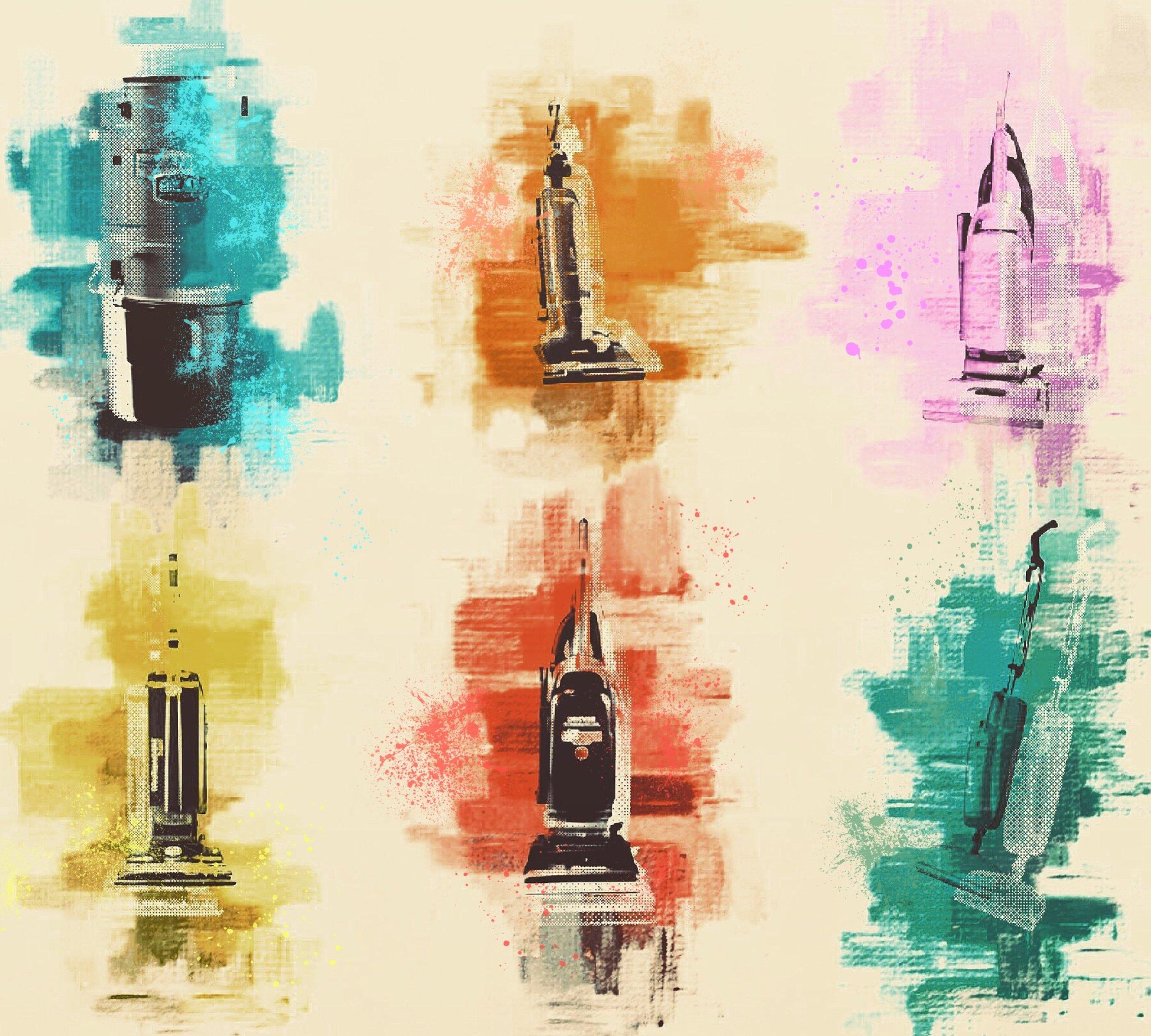 """Vacuums"", iPhone 6S, digital image, 2016"
