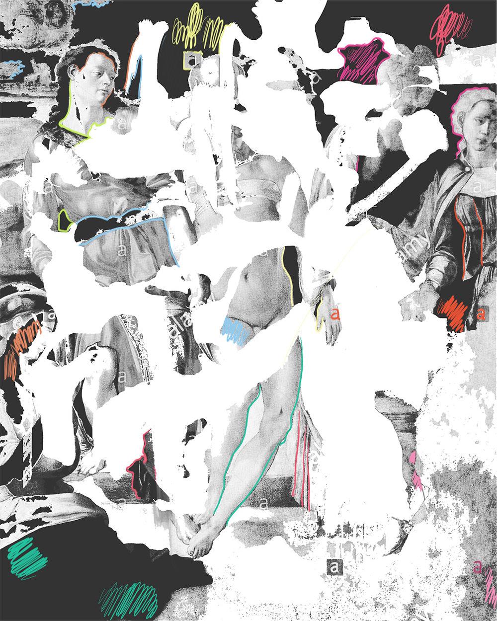 """The Entombment"", iPhone X, digital image."