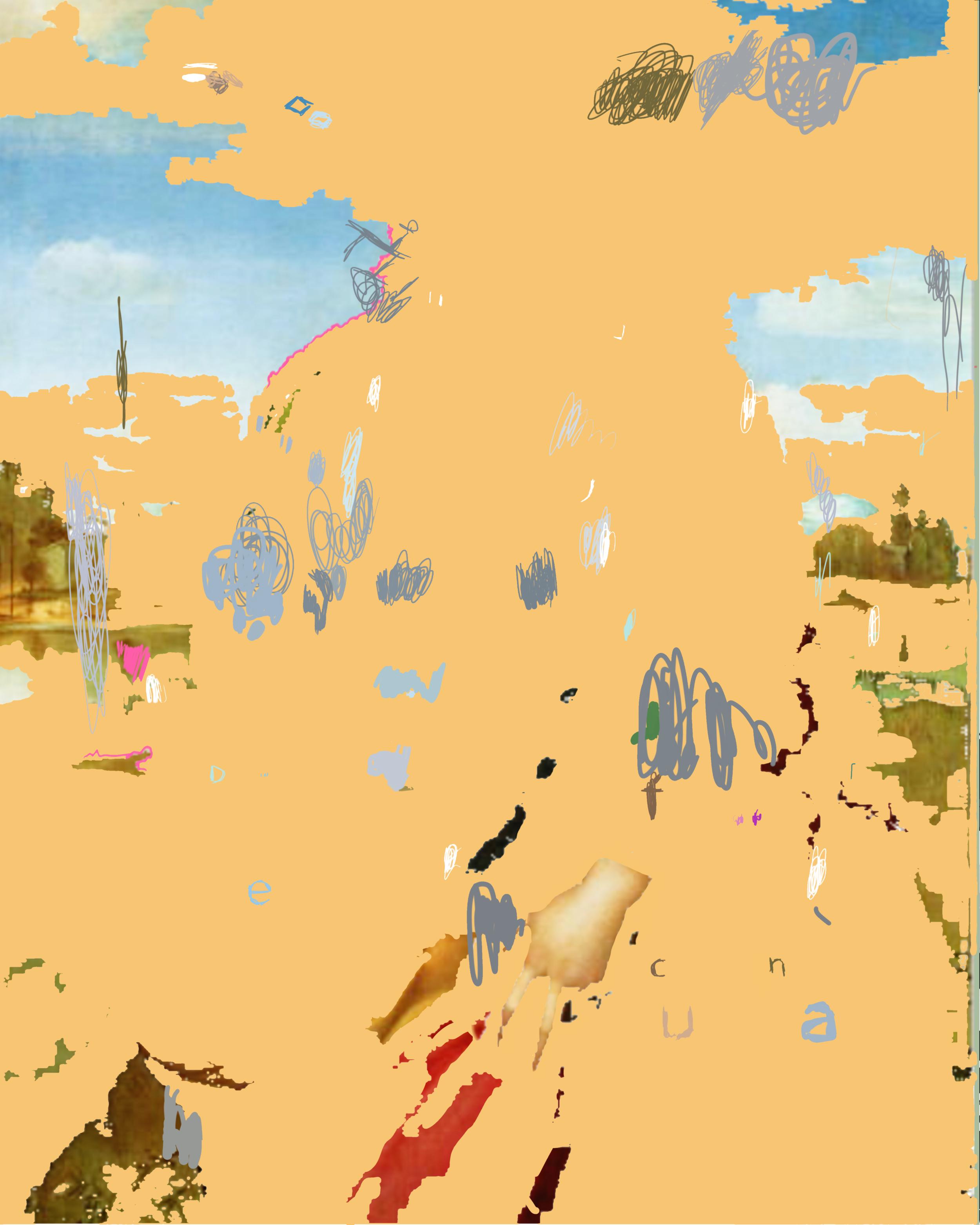 """St Catherine of Alexandria"", iPhone X, digital image."