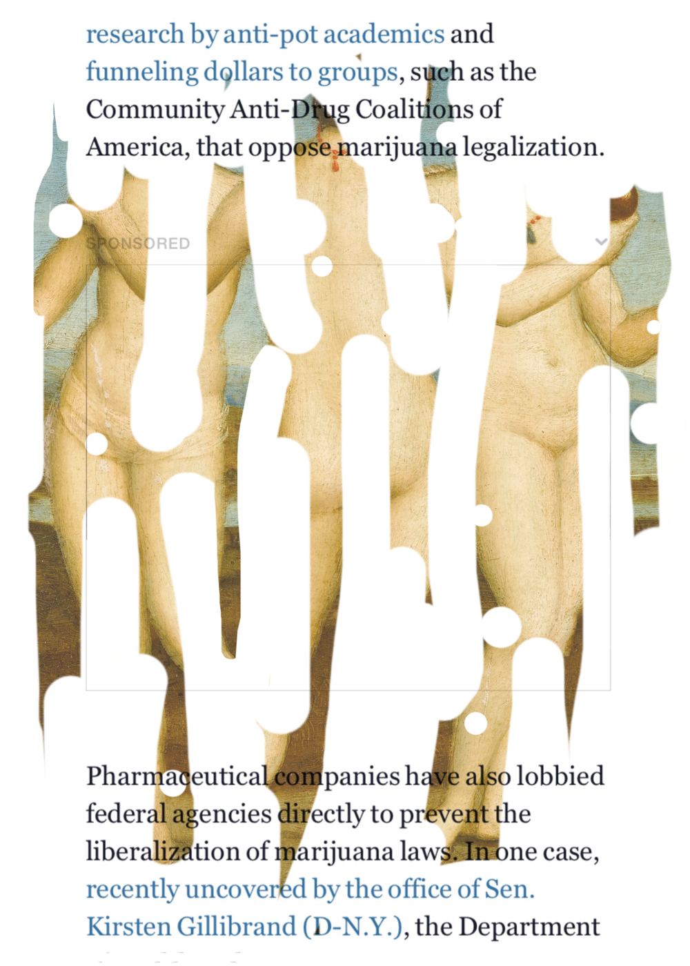 """The Liberalization of Marijuana Laws"", iPhone 6S, digital image."