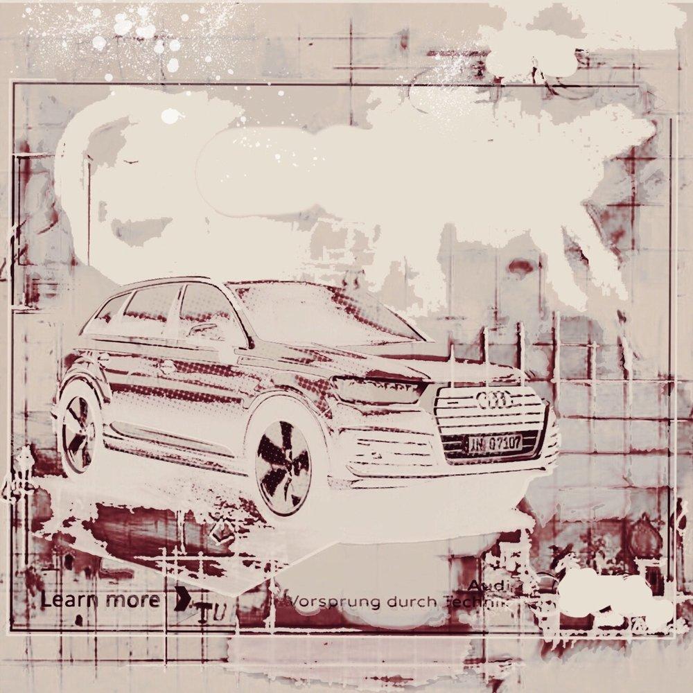 """Car Ad"", iPhone 6S, digital image."