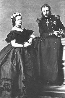 Leopold II and Maria