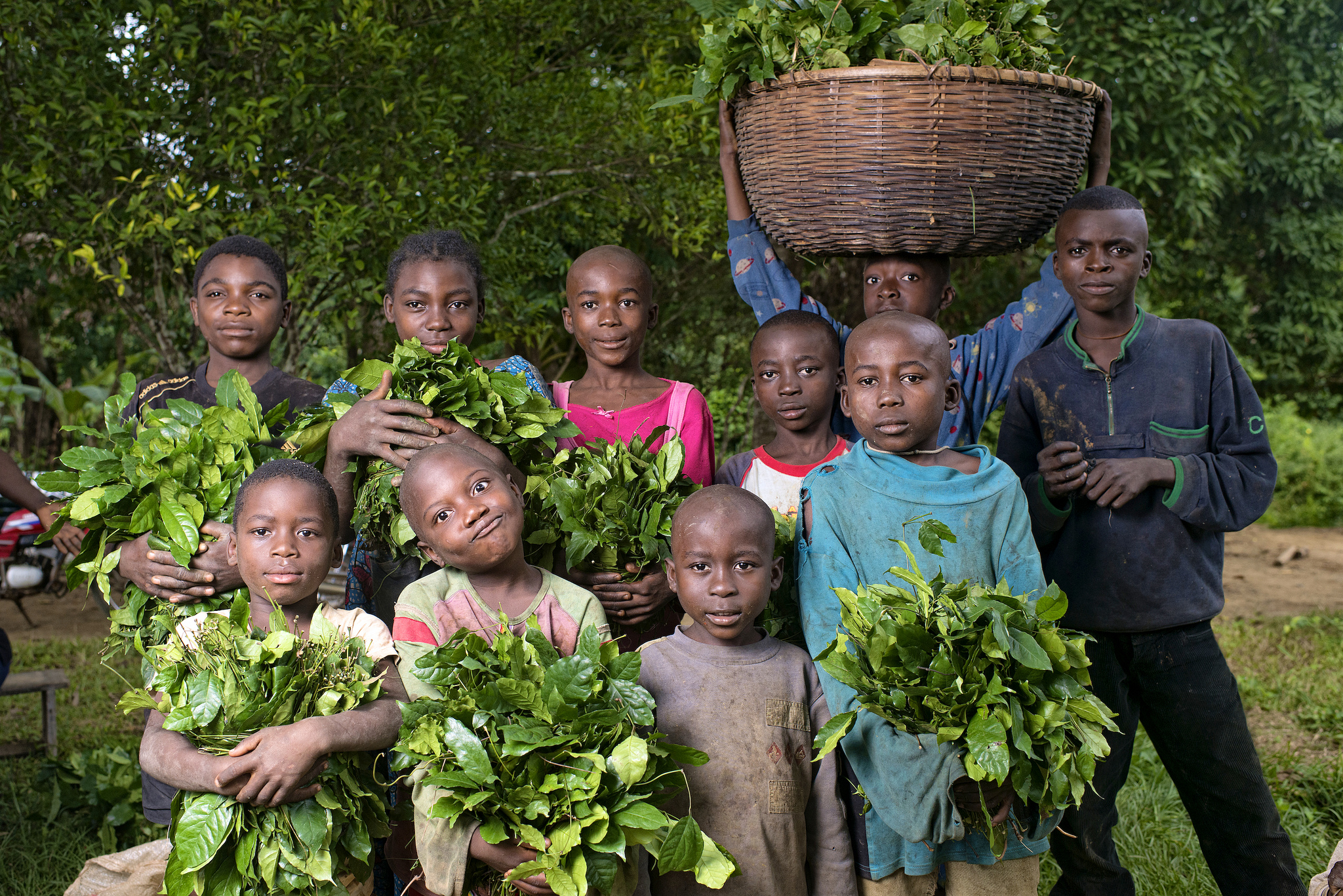 Children are the future of the Congo...give today!