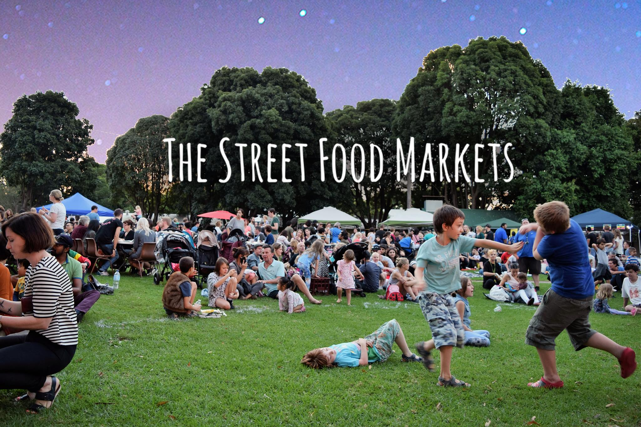The Street Food Markets, with a light-art installation, a pop-up bar, live music from The Protestors and, as always, beautiful food!