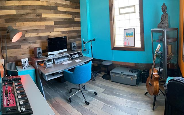 Now this is a creative space! @plymouth_rock_recording_co #music #studio #creating #lifelovemusic
