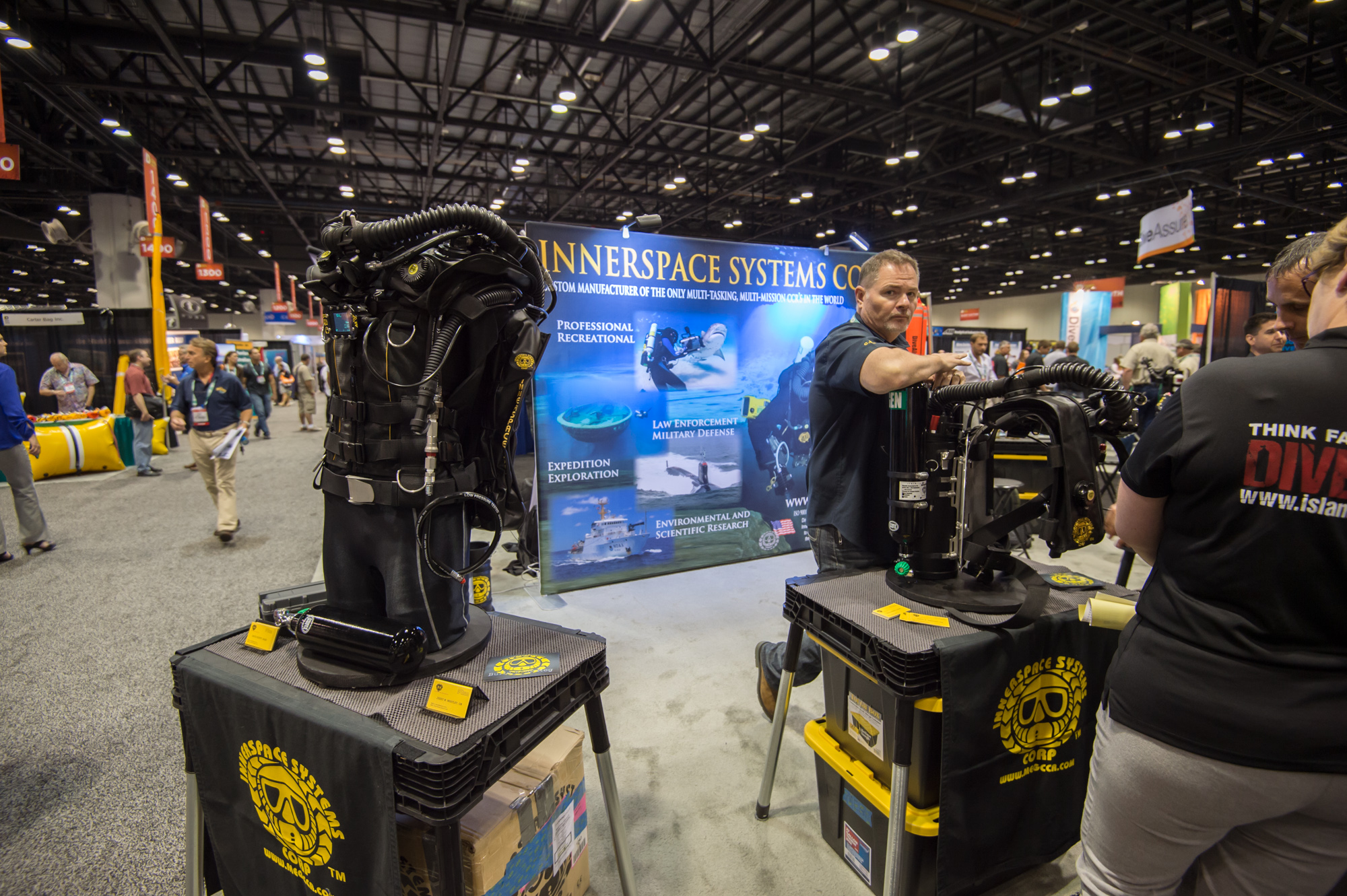ISC makes the bulletproof Megalodon and Pathfinder CCRs, but have some stiff competition from the likes of Hollis, rEvo, and the JJ rebreathers
