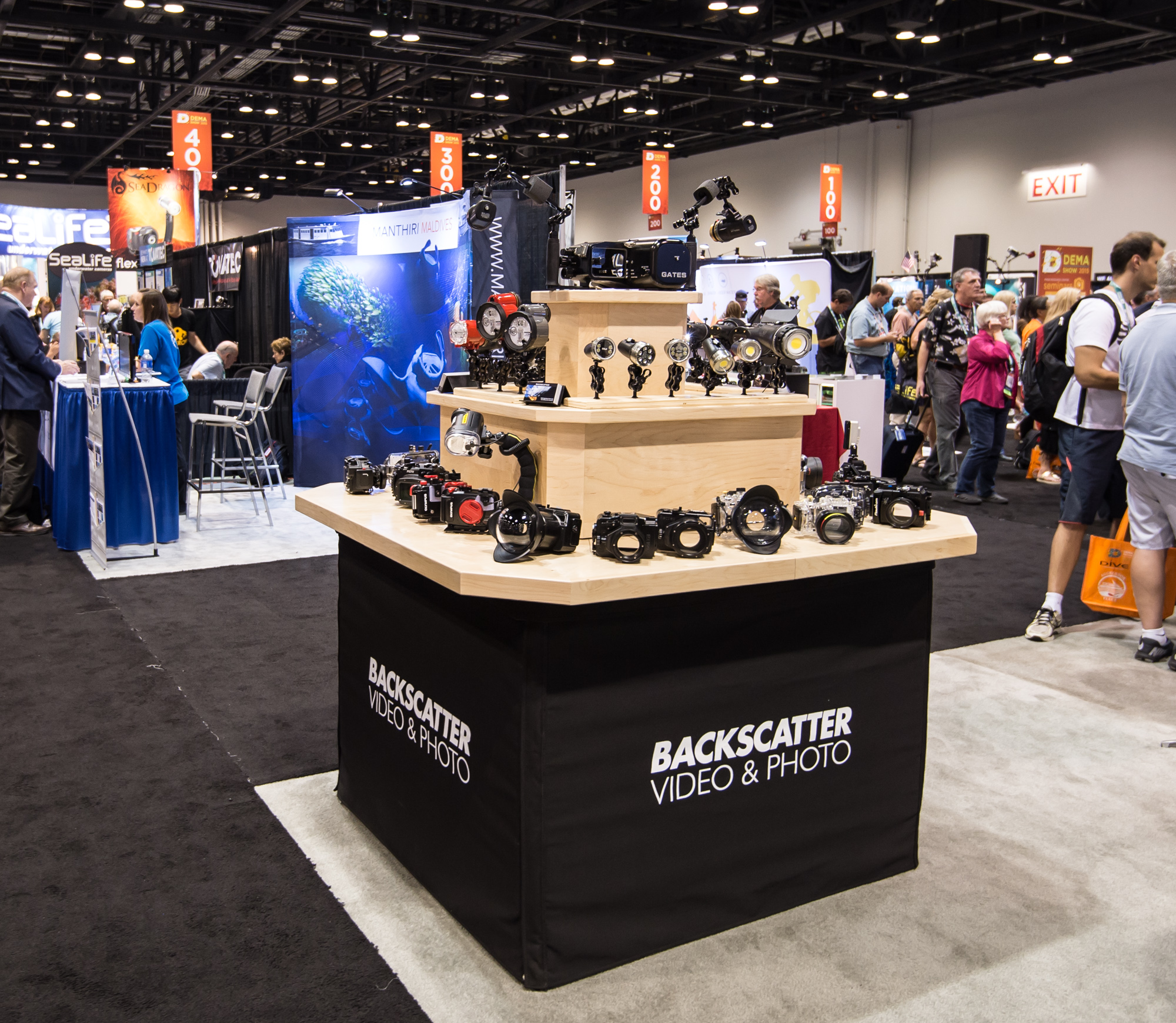 As always, Backscatter had a big presence at the show