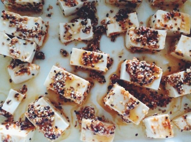 roasted chill tofu