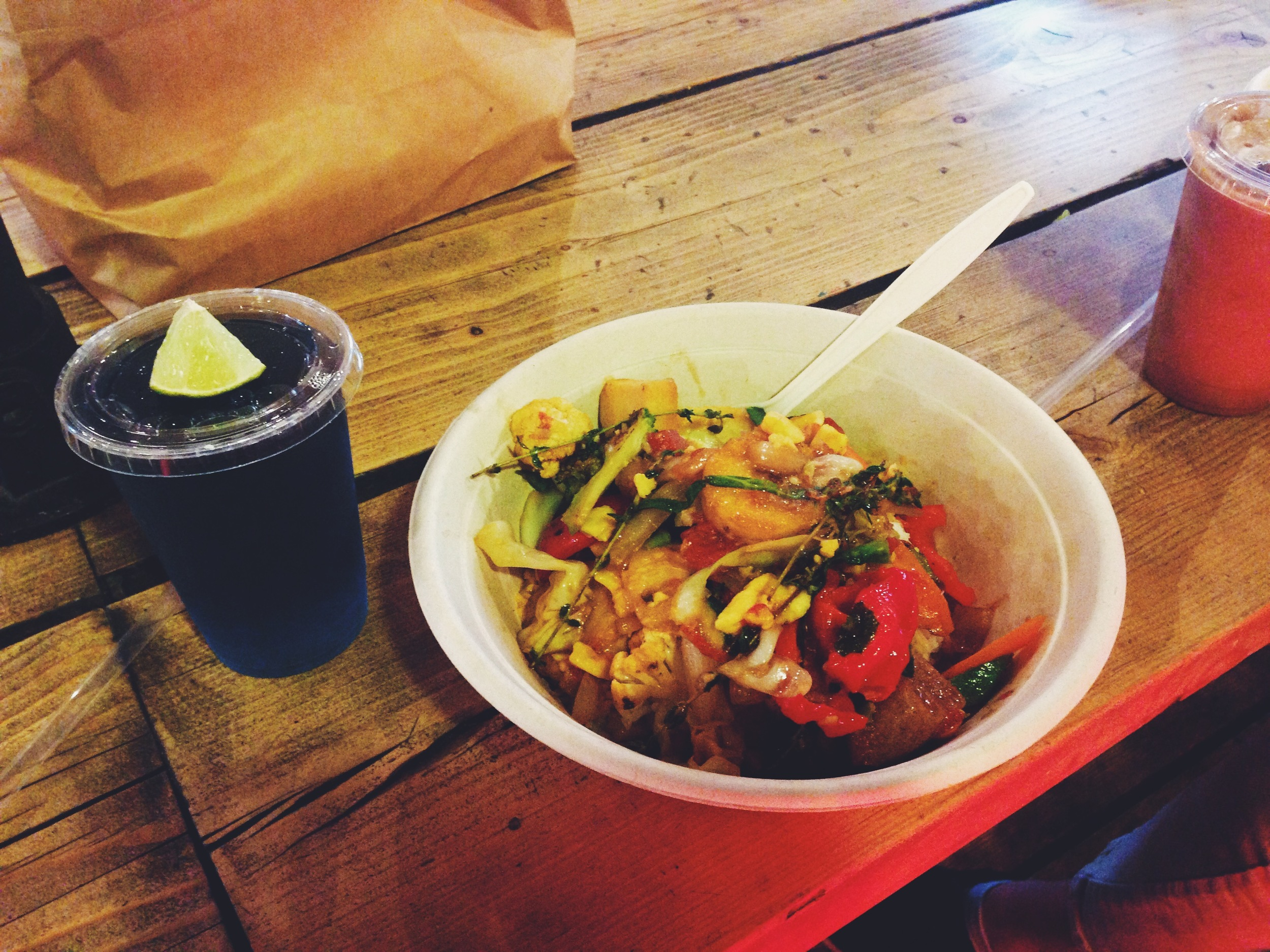 Cook Daily hard bowl at Boxpark Shoreditch