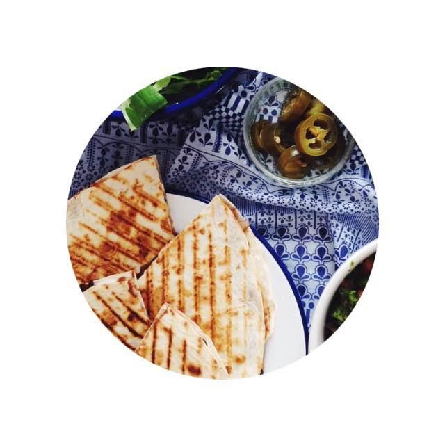 vegan quesadillas