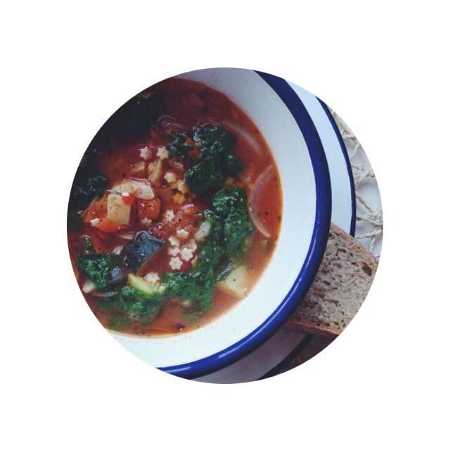 vegan minestrone