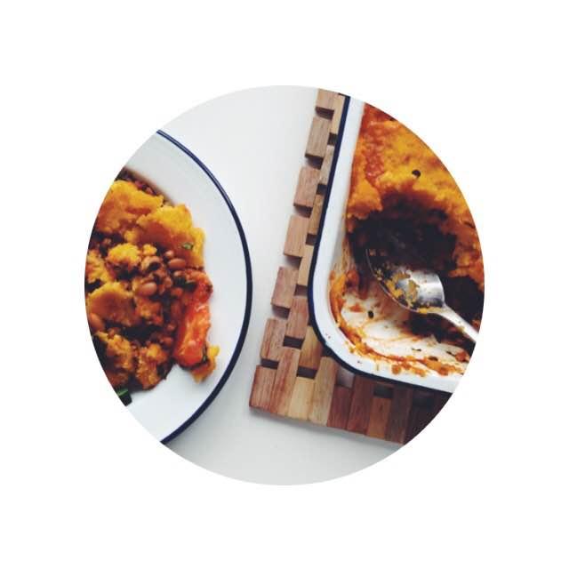 polenta pumpkin chilli
