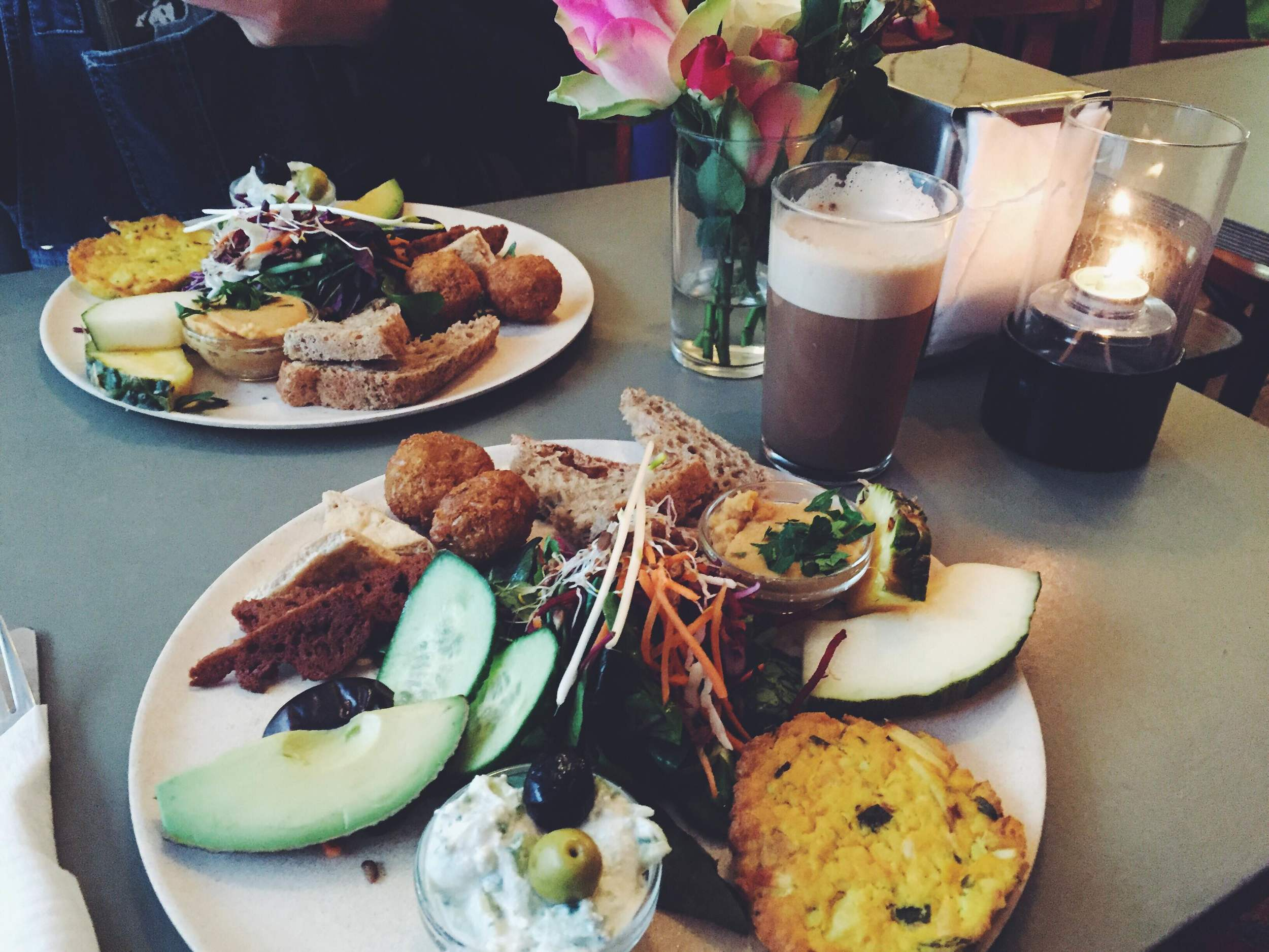 cafe n vegansk brunch