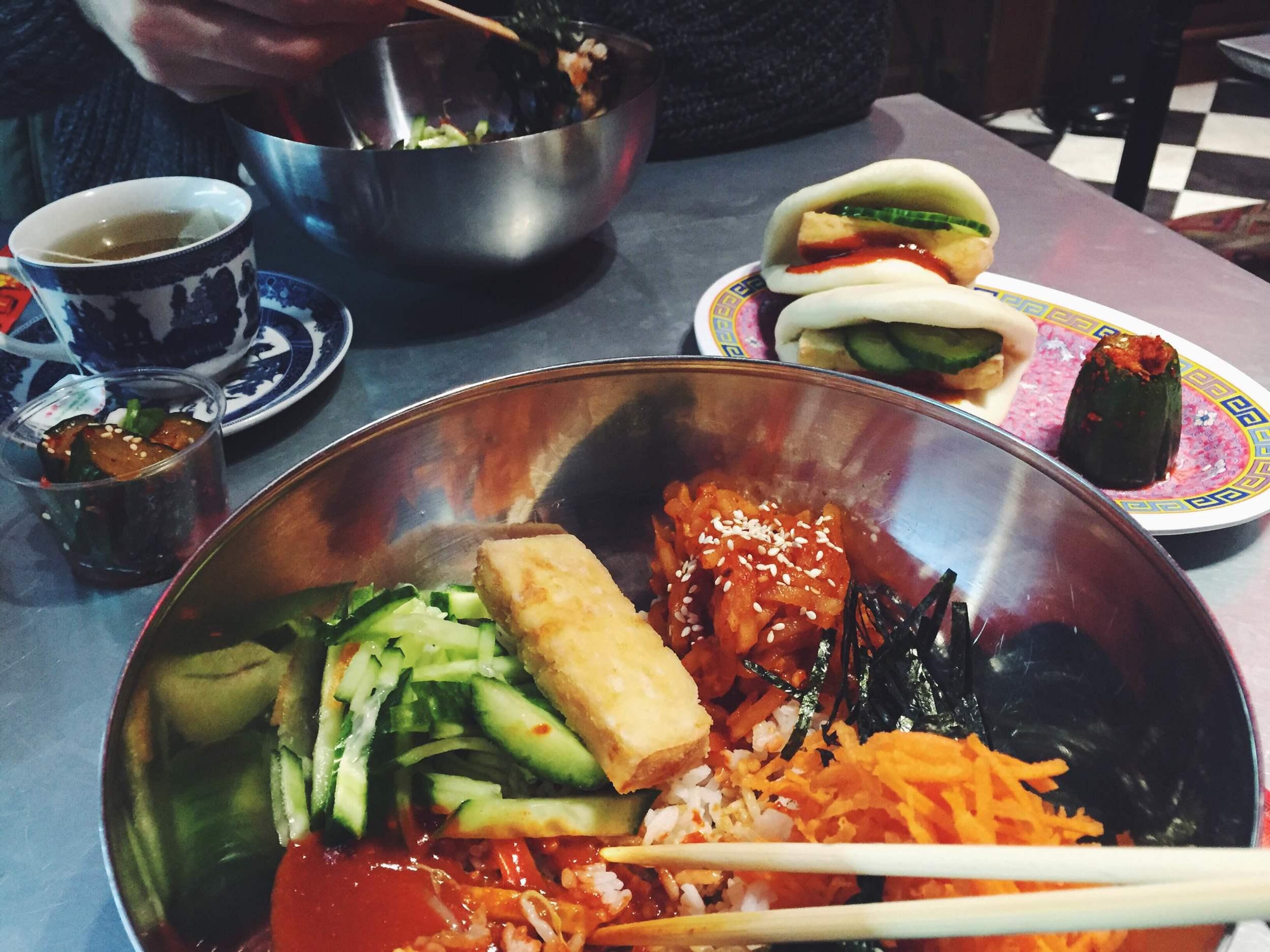 bibimbap at kimchi cult
