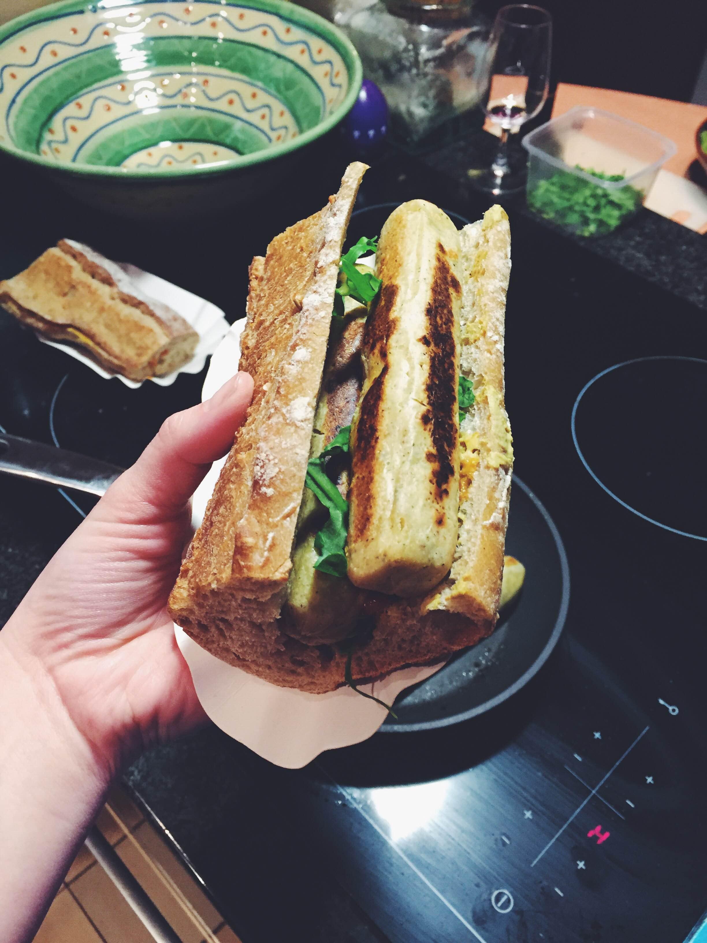 vegan tofu hot dogs in Belgium