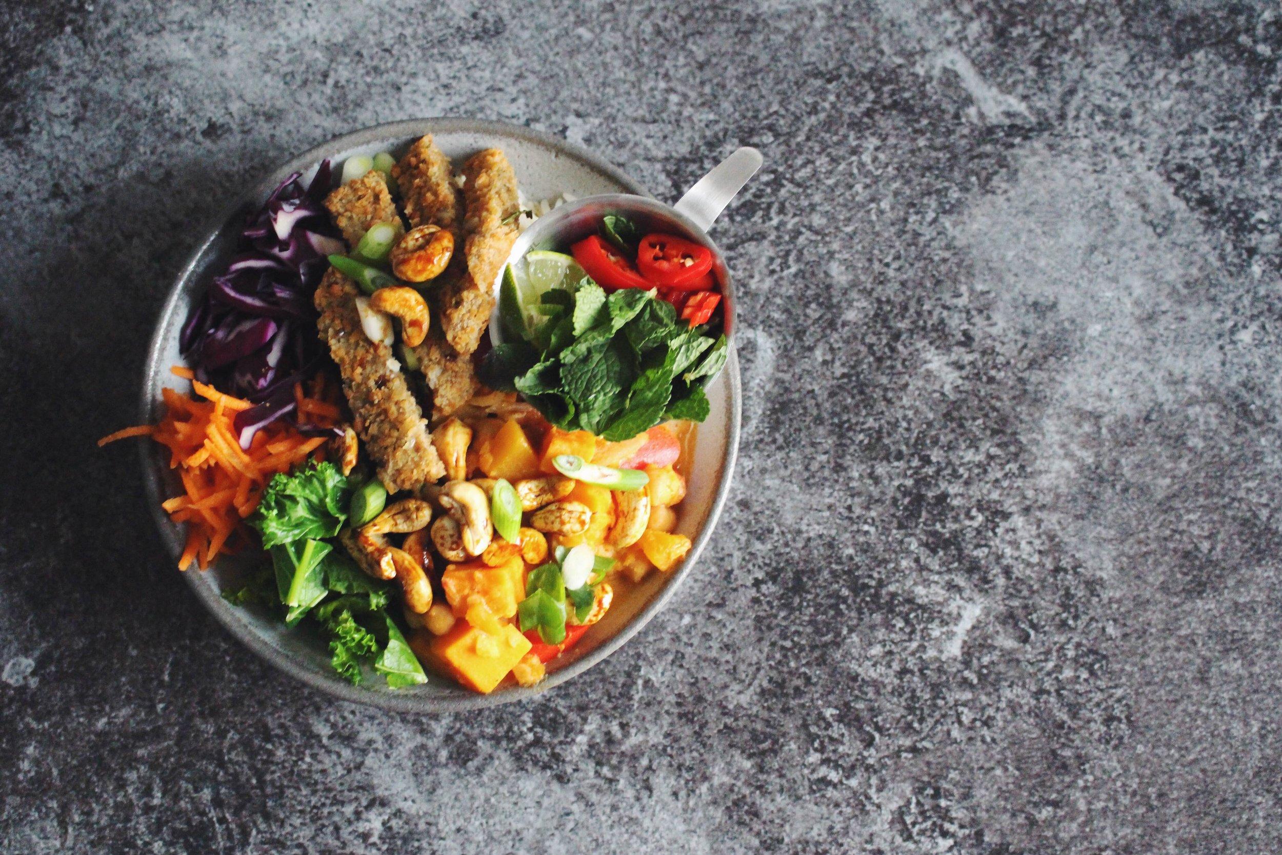 red thai curry vegan recipe