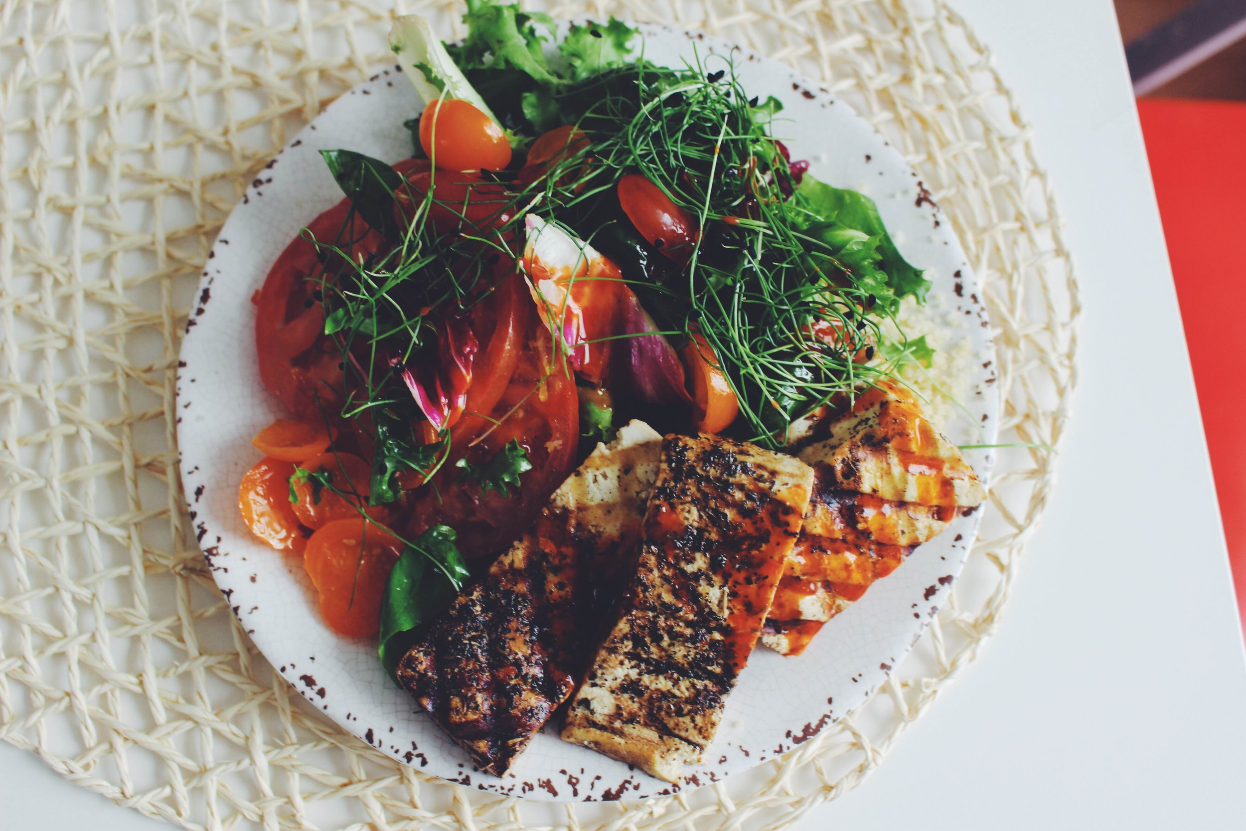 vegan halloumi recipe for summer