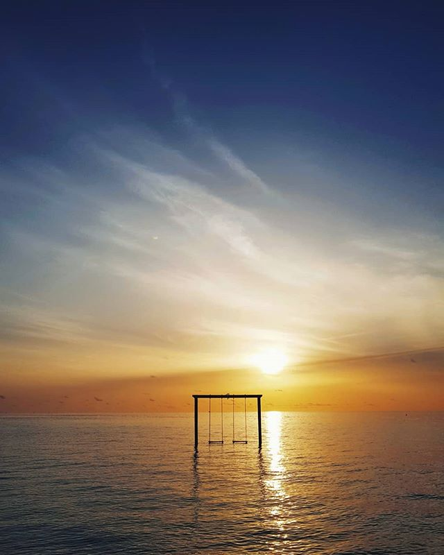 Maldiven sunsets #maldives #travel #clubmedfinolhu 📸#s8plus