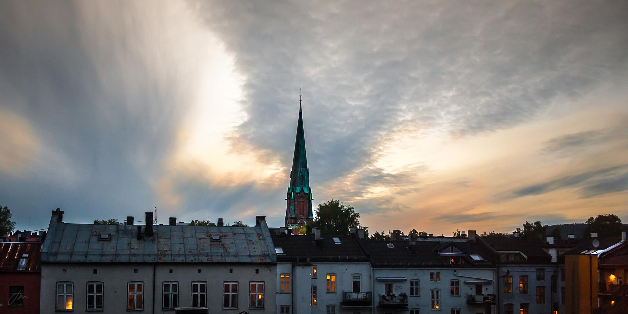 Spiret på Paulus kirke – Grünerløkka