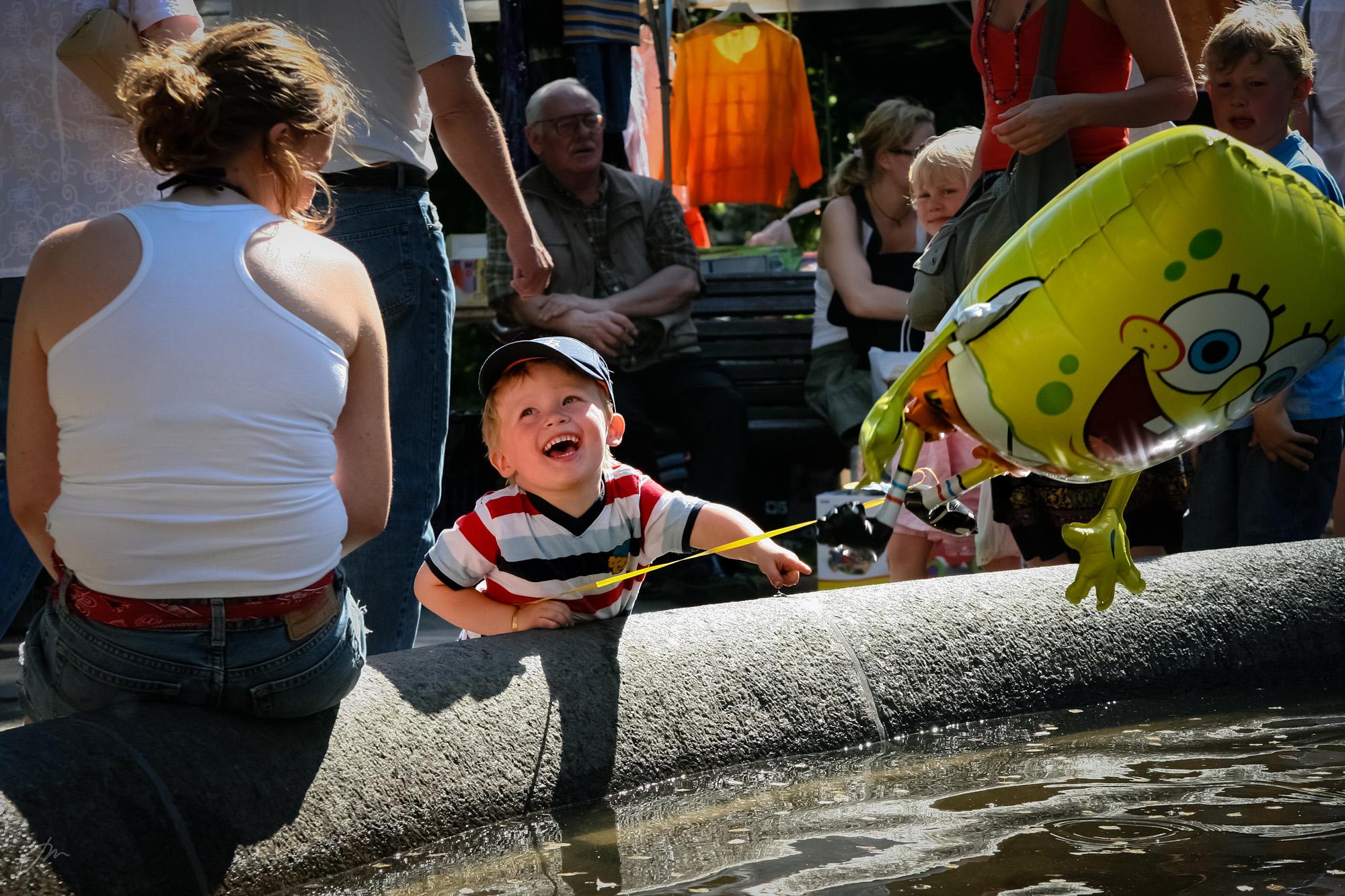 Gleden over en ballong – Olaf Ryes plass