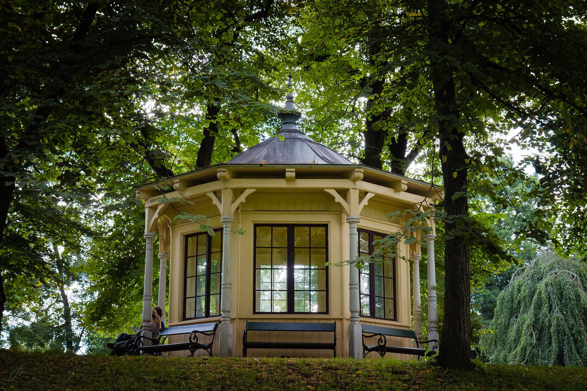 Paviljongen i Dronningparken