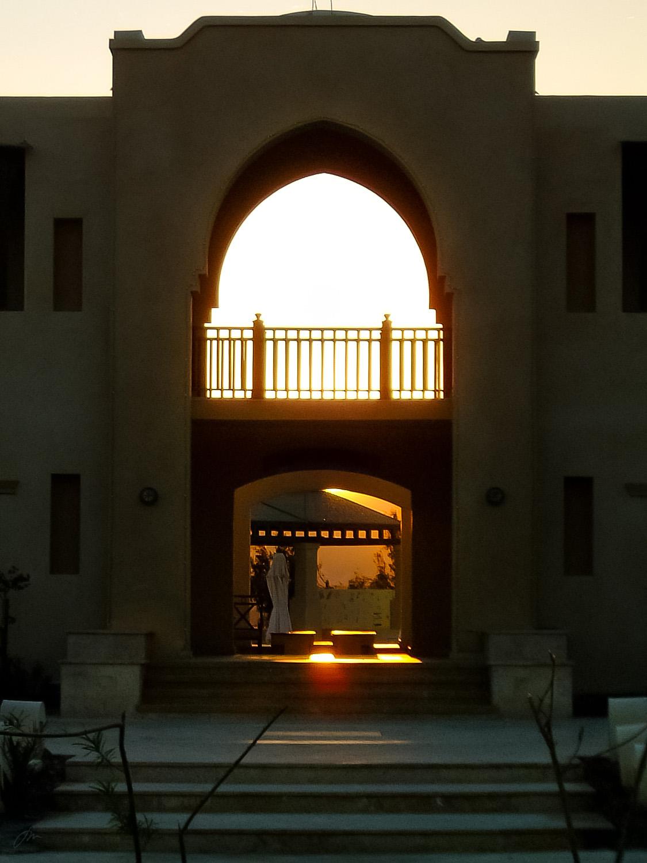 Ørkenhotell ved Rødehavskysten
