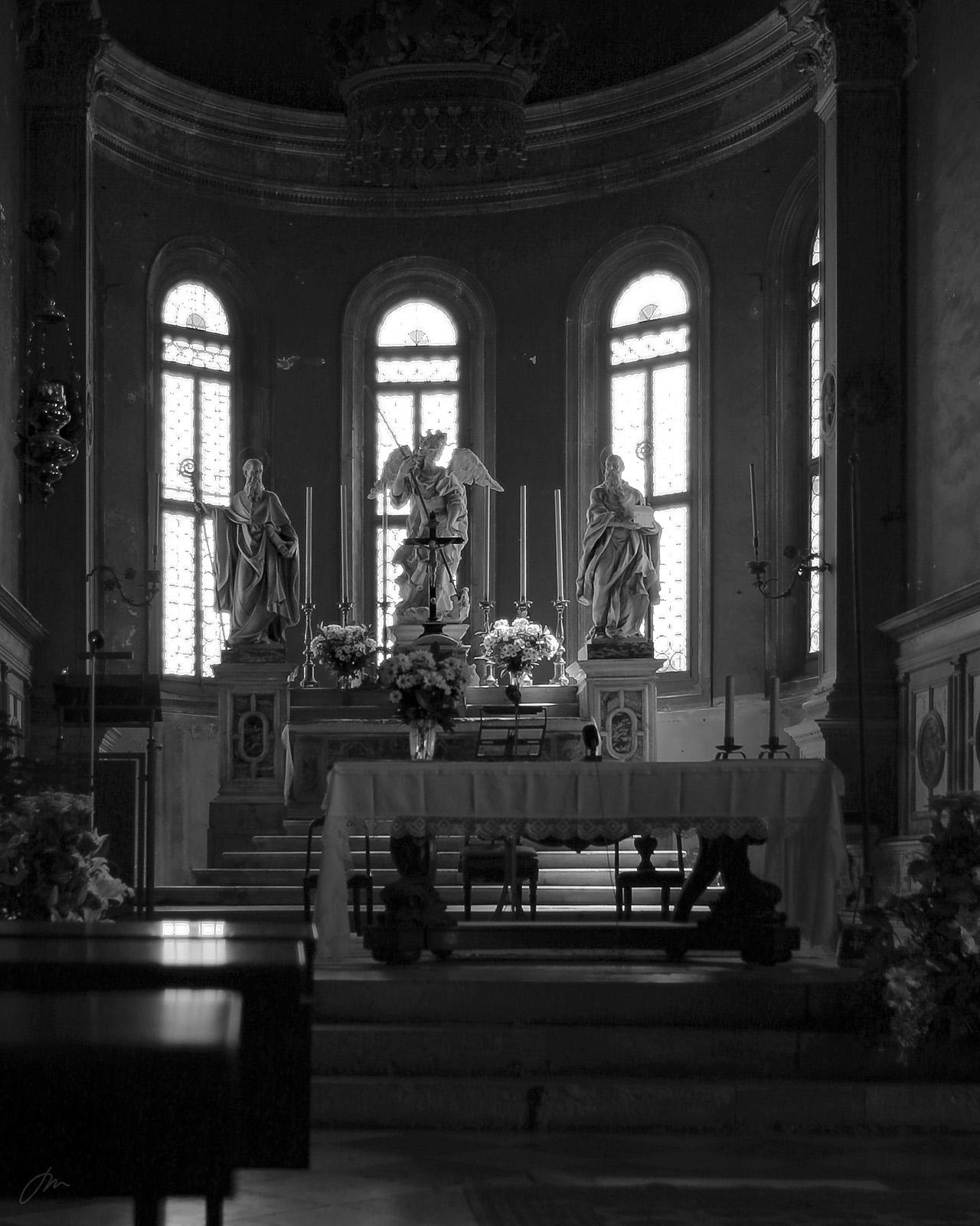 Klosterkapellet på kirkegårdsøya San Michele, Venezia