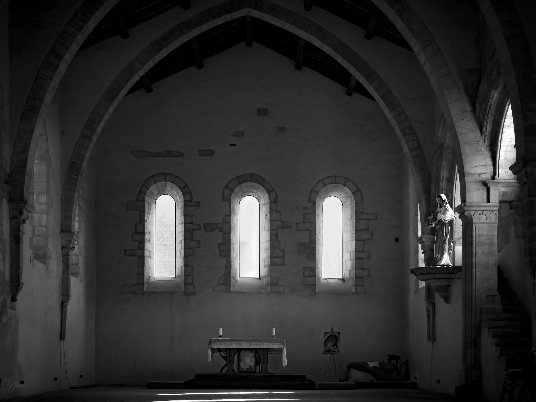 Klosterkapellet i Fossanova, sør for Roma