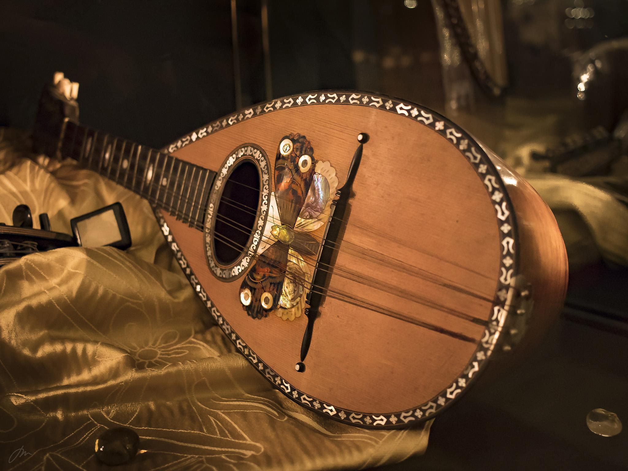 """De gamle instrumentene i """"Arte Musica Venezia""""."""