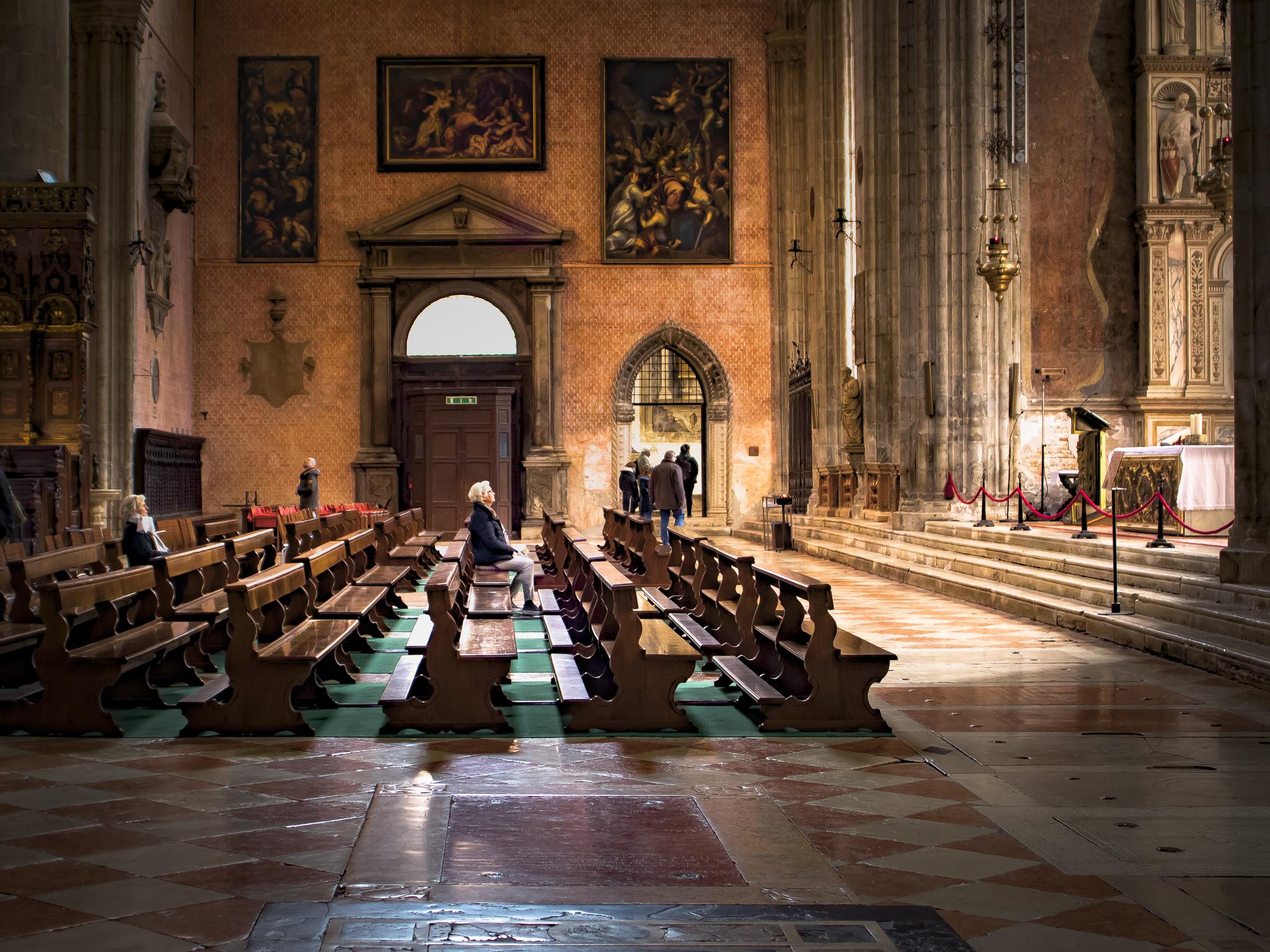 Når du trenger ro, besøk Frari-kirken