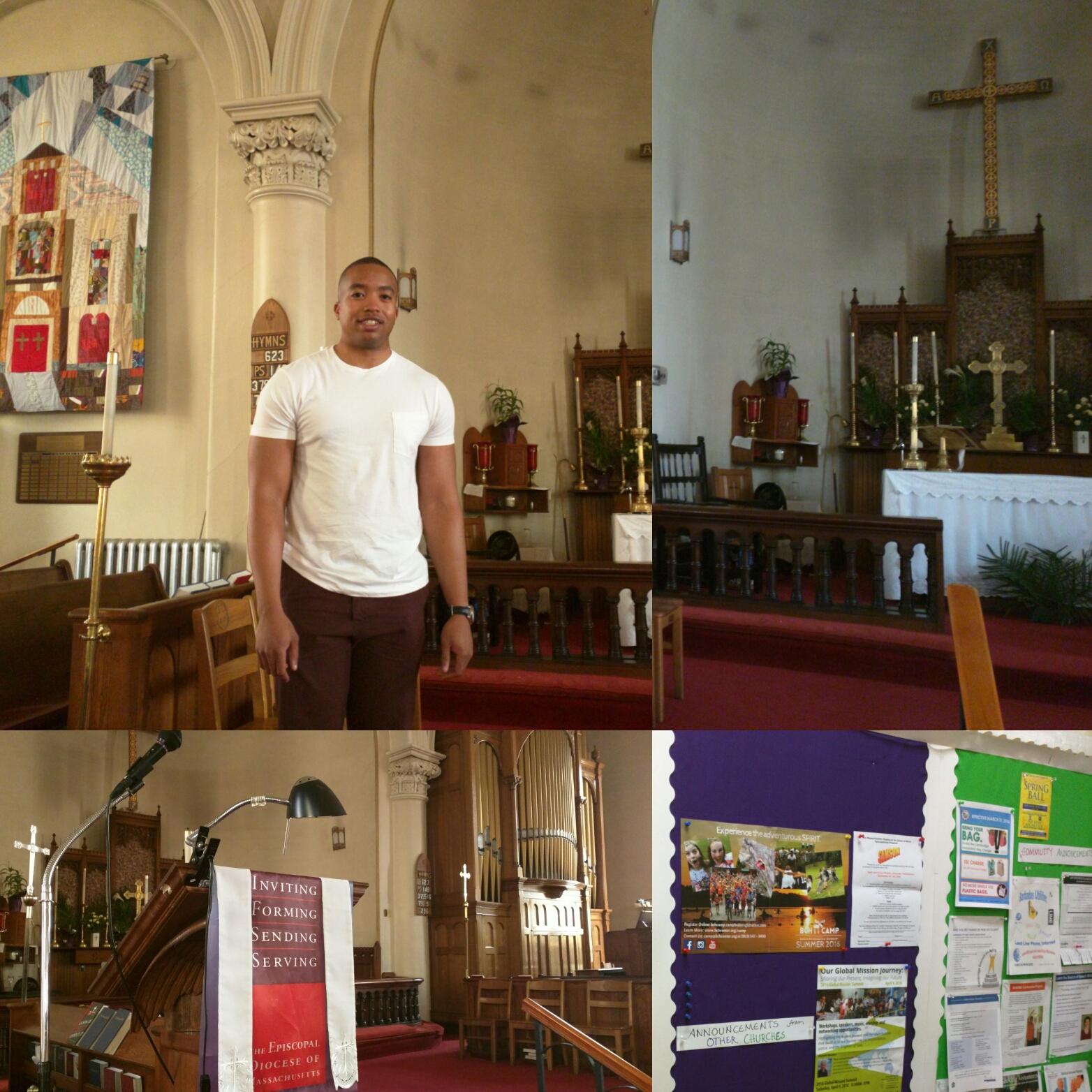 Wayne Jones, Micah Fellow at St. Bartholomew's Episcopal Church, Cambridge
