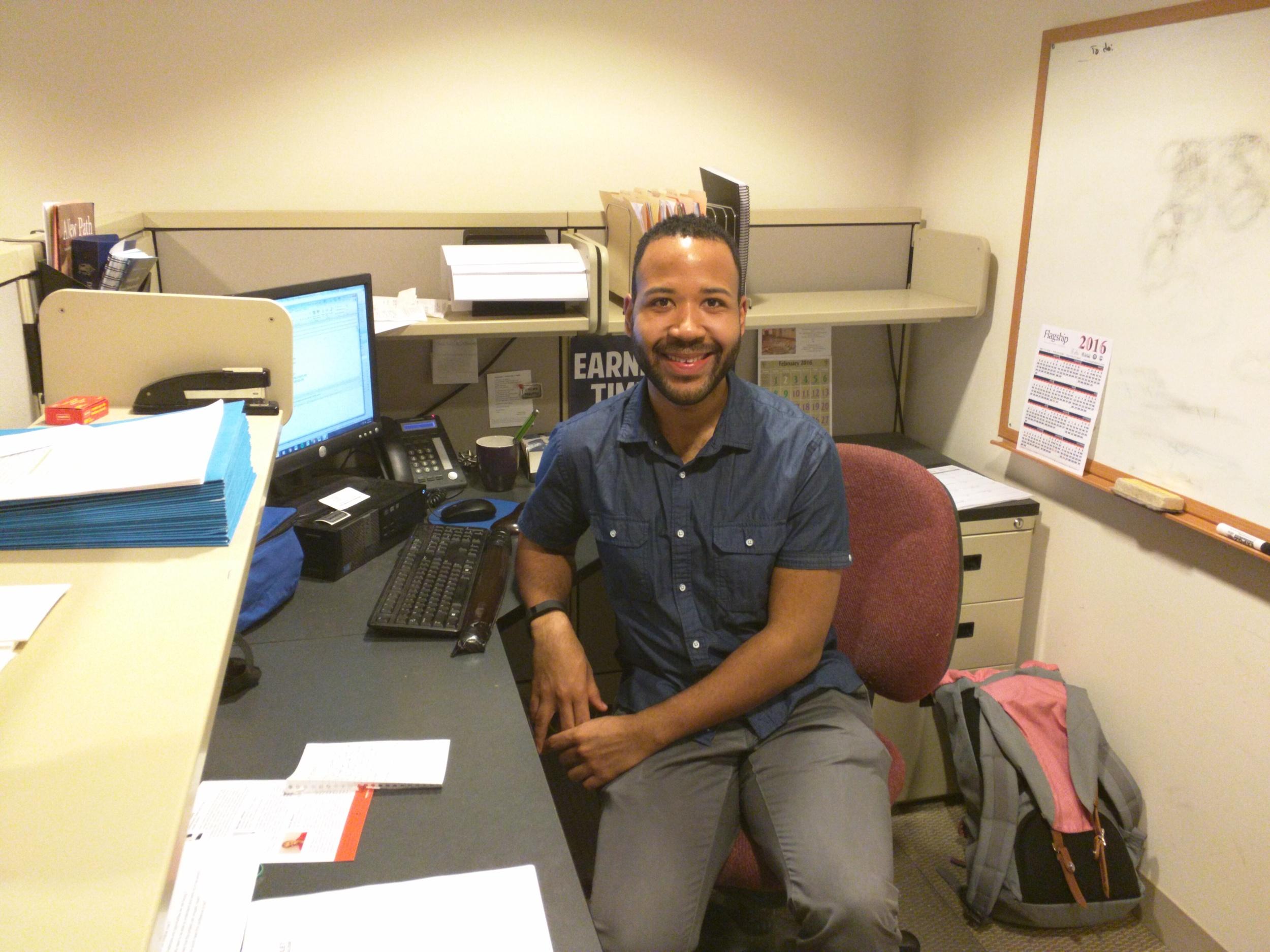 Ashton Murray, Micah Fellow at Episcopal City Mission, Downtown Boston