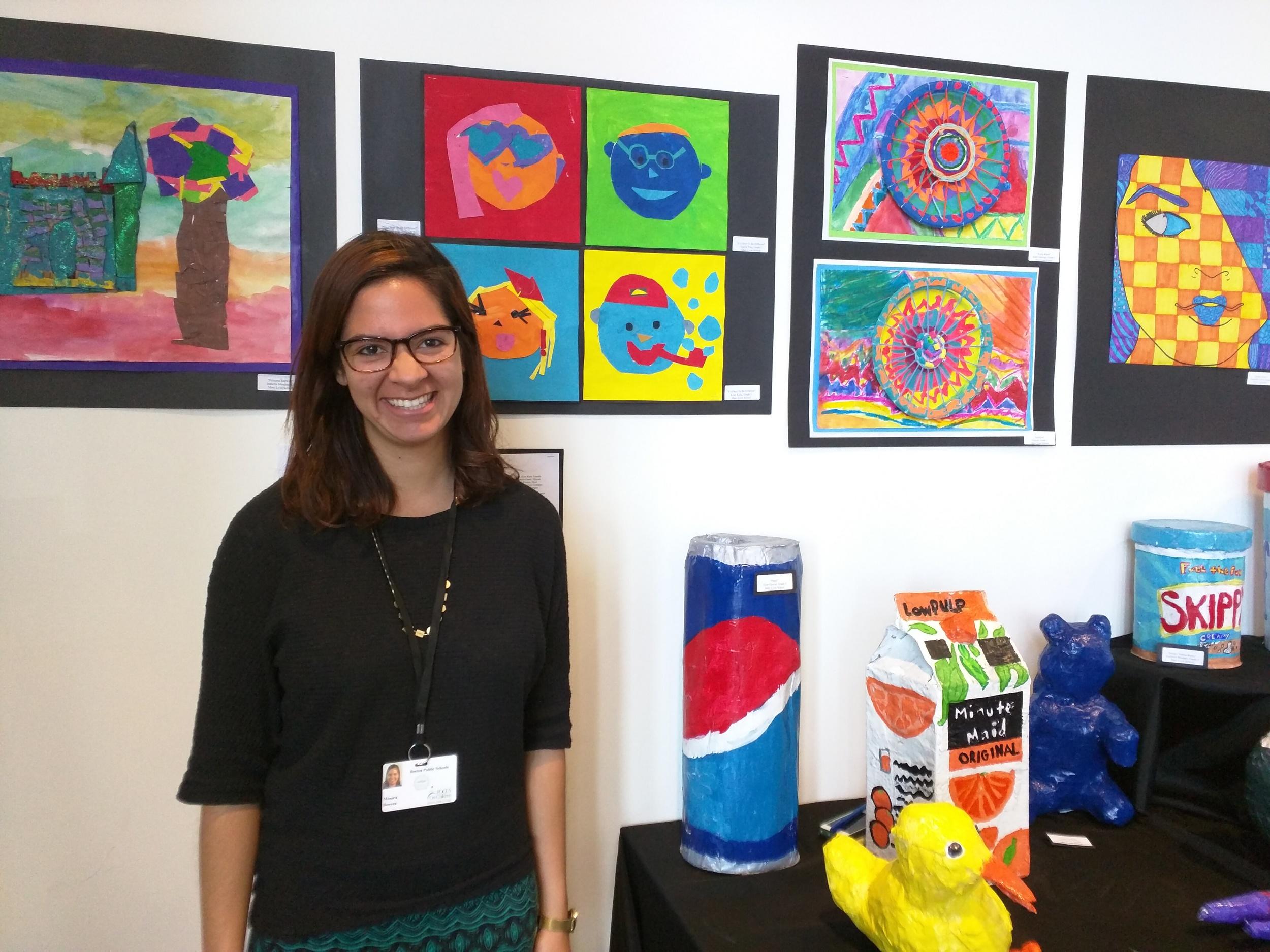 Monica Bouyea, Micah Fellow at Youth on Board, Roxbury