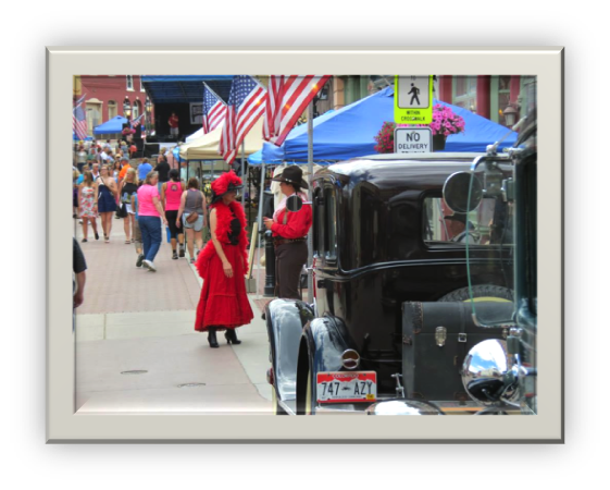 1929 Tudors featured by the Model A Ford Club of Denver-   Photo by Litch Polich, Breckenridge Distiller