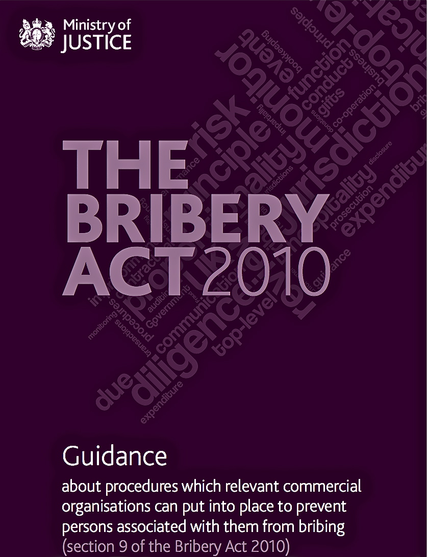 Bribery Act 2010 Guidance
