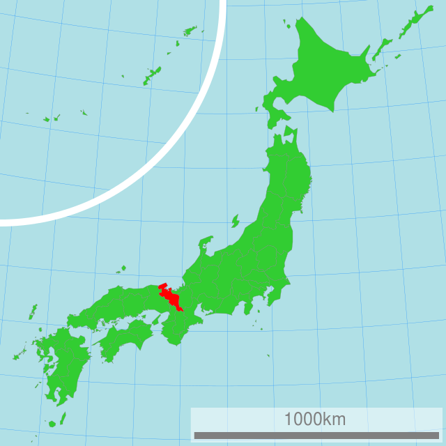 Wazuka is at the South of the Kyoto Region in re  d.