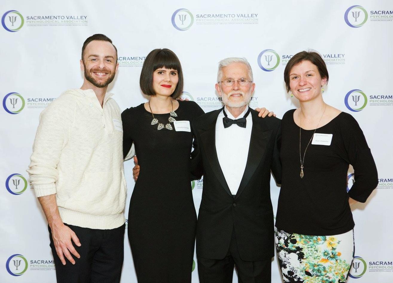 From left: Rick Grant-Coons (Diversity Chair), Christina Spragg (Early Career Chair), Ken Christian (Member at Large), Ryan Cheperka (President-Elect)