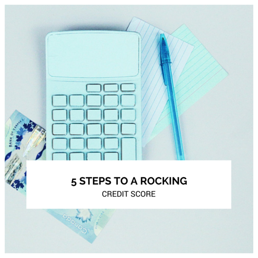 In Person Session: 5 Steps to a Rocking Credit Score! Understanding Personal Credit.