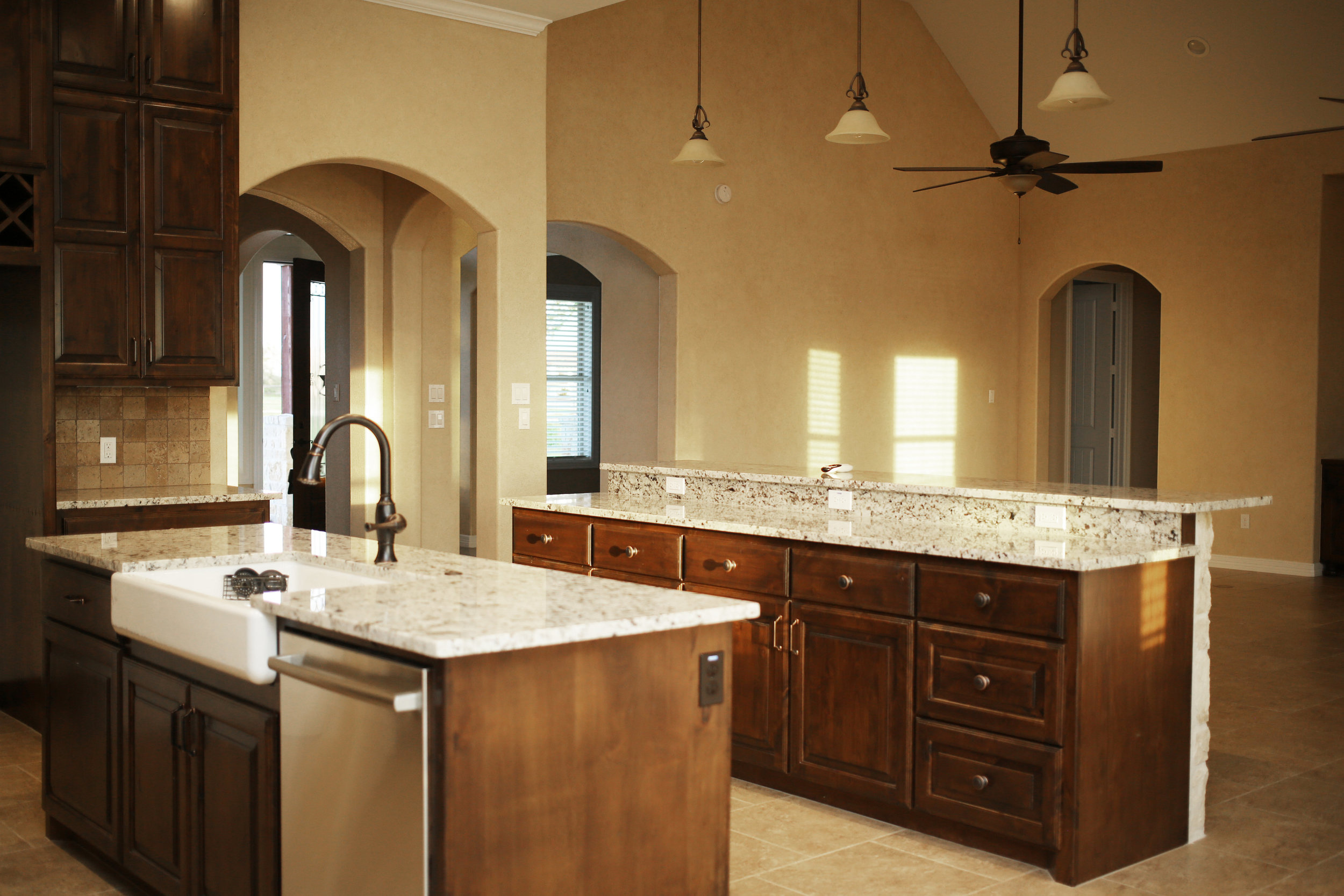Stained Cabinetry