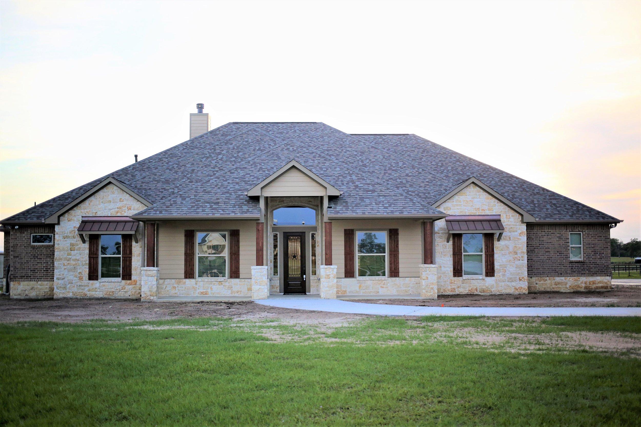 White Stone Ranch House