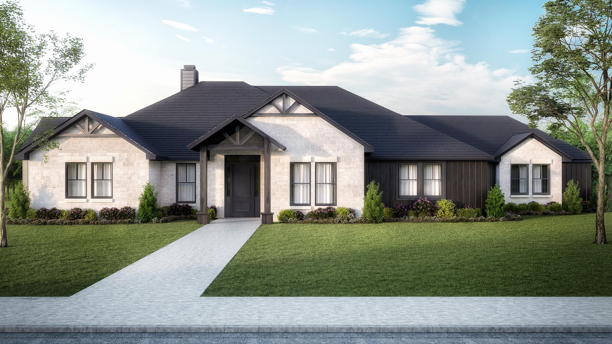 The Sabine   $359,450  3 Bedrooms, 2 Bathrooms  2,458 sq.ft.