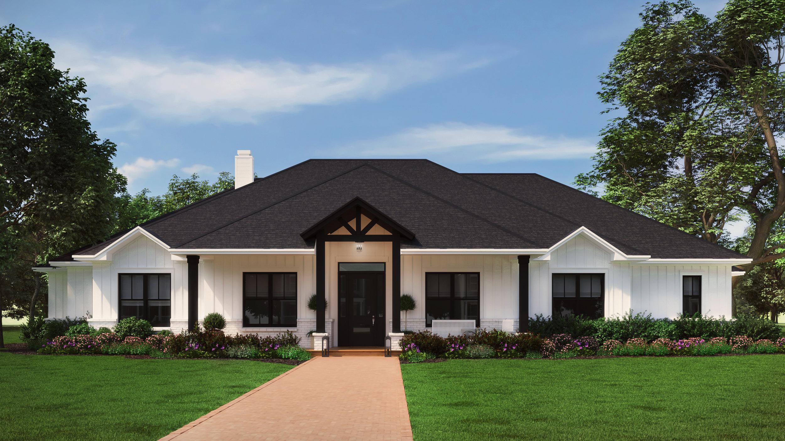 The Nueces   $439,450  4 Bedrooms, 3.5 Bathrooms  3,485 sq.f.t