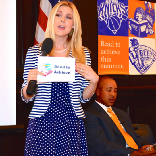 Knicks Annual Read To Achieve Event
