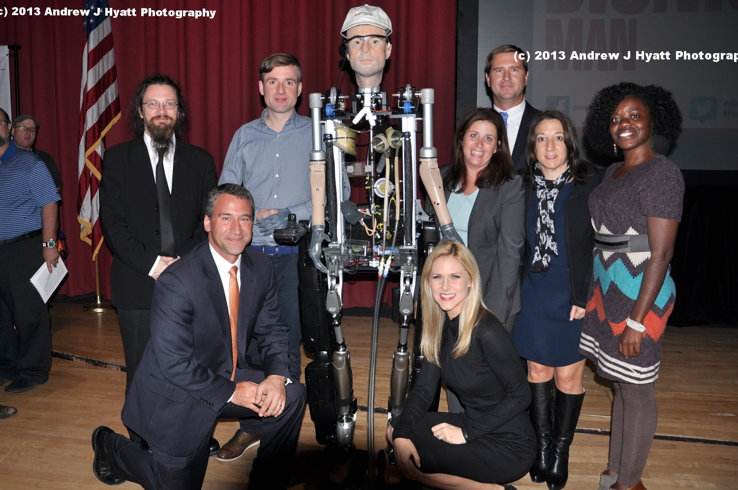 The Bionic Man Smithsonian Channel Event