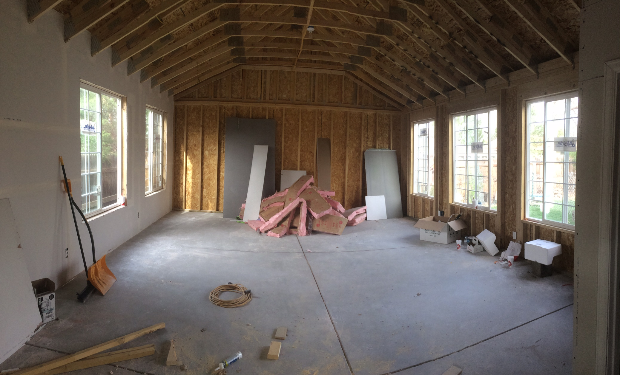 New windows natural light denver photography studio