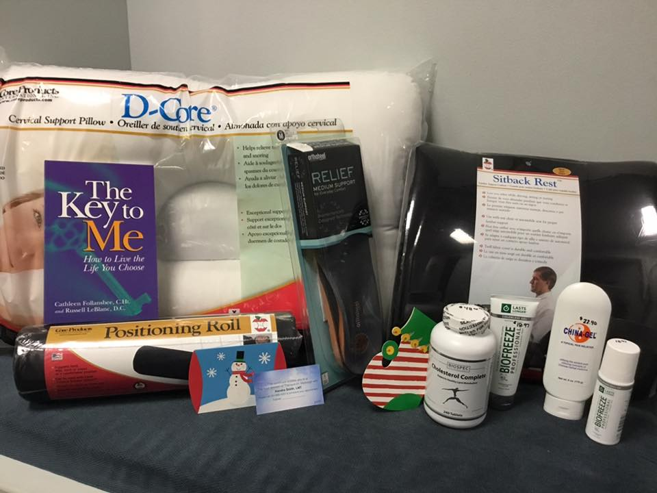 Community Chiropractic_unique gift options_best sleep pillow_key to me book_biofreeze_cholesterol complete.jpg